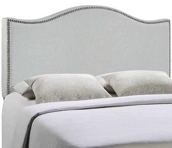 King Size Headboards for $300 or Less + Awesome Sources for all Sizes of Headboards - gorgeous selections and affordable! Beige Upholstered Headboard