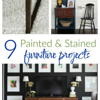 Painted & Stained Furniture Projects with a HomeRight Finish Max / Furniture Makeovers