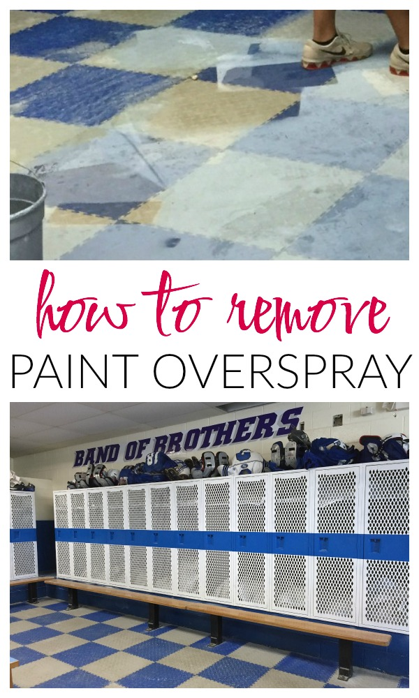 How to Remove Paint Overspray | Steam Cleaning | Cleaning Tips | Cleaning Ideas | Paint Removal | Paint Removing Tips