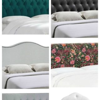 King Size Headboards for $300 or Less + Awesome Sources for all Sizes of Headboards - gorgeous selections and affordable!