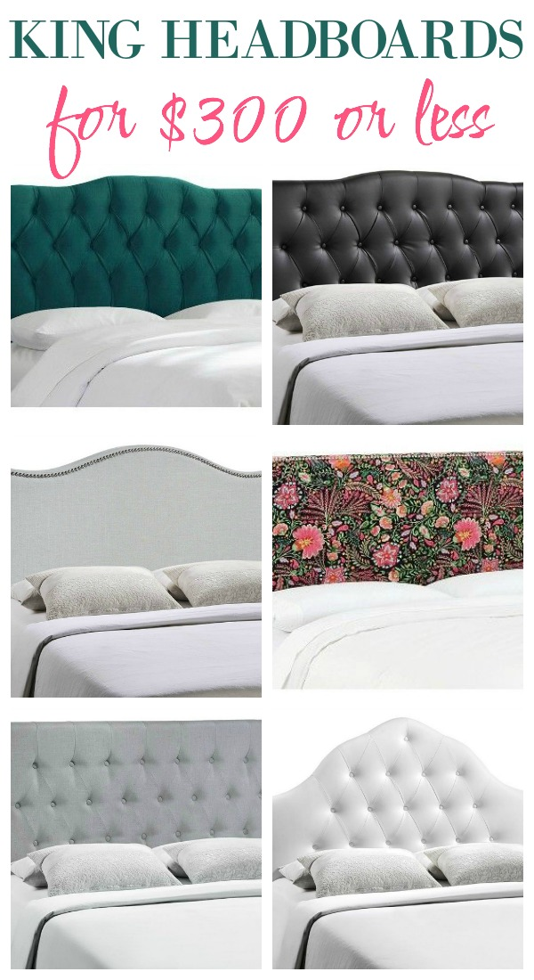 King Headboards for $300 or Less