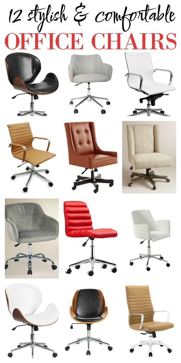 Affordable Office Chairs Stylish And Comfortable Desk Chair Ideas