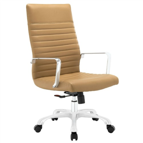 stylish desk chair. 12 Stylish And Comfortable Office Chairs / High Back Ribbed Camel Chair Desk R