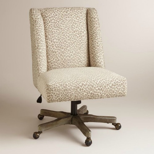 Charmant 12 Stylish And Comfortable Office Chairs / Leopard Print Desk Chair