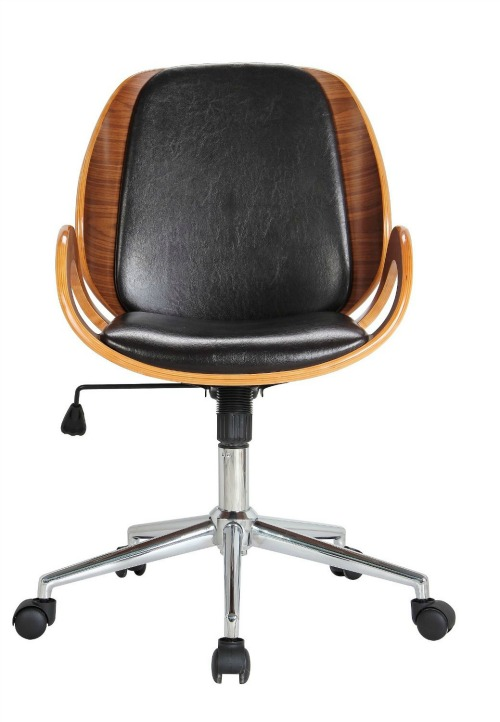 12 Stylish And Comfortable Office Chairs Black Wood Desk Chair