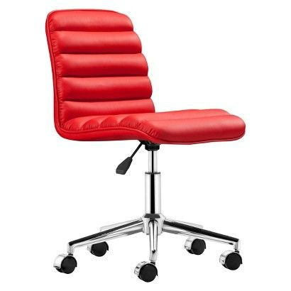 12 stylish and comfortable office chairs red puffy desk chair