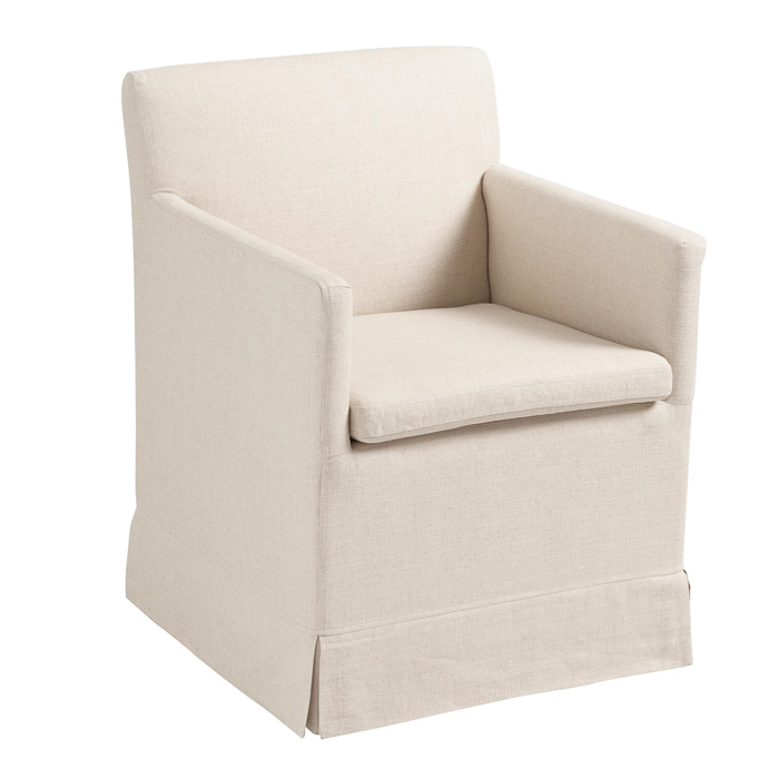Pretty Office Chairs - looks like a real armchair.