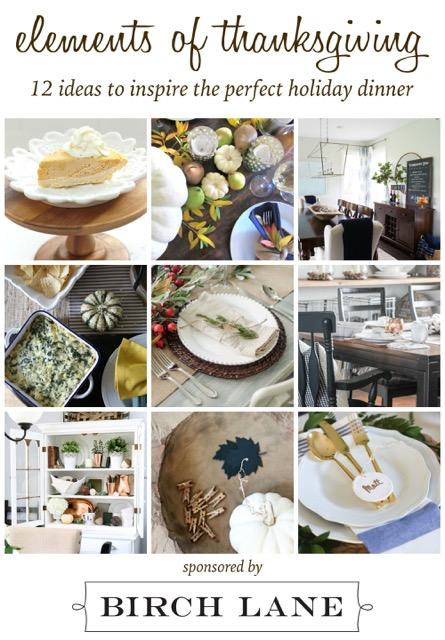 Elements of Thanksgiving Blog Hop