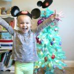 The Circus' Blue Christmas Tree