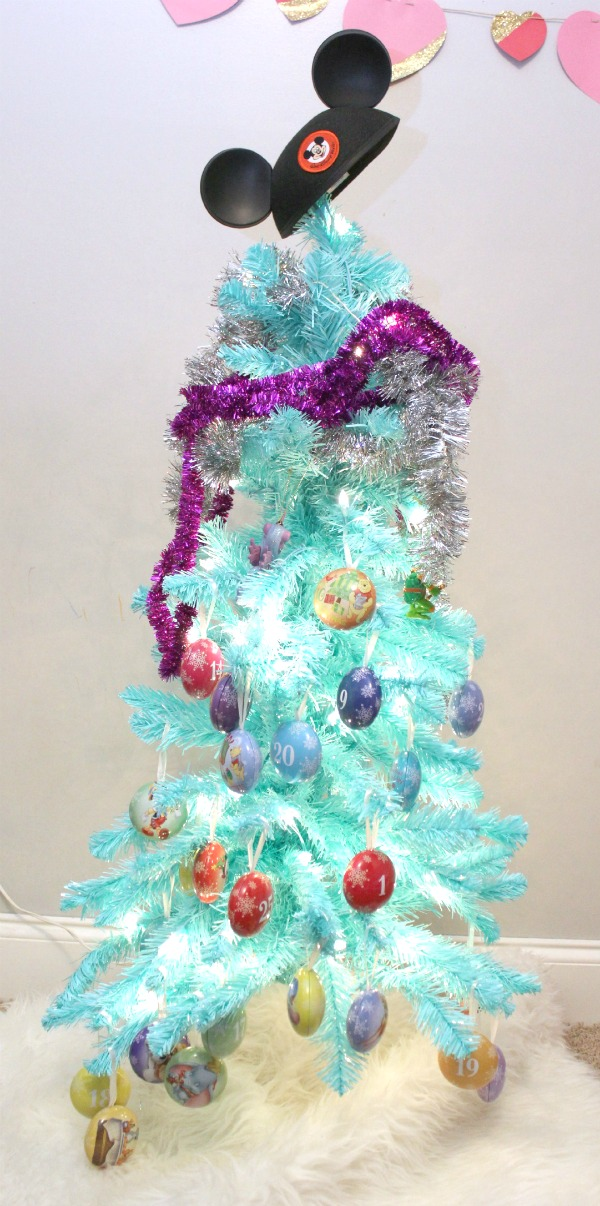The Circus' Blue Christmas Tree