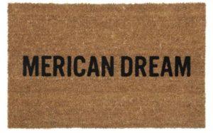 Merican Dream Door Mat - Great Gift Idea!