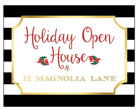 11 Magnolia Lane Holiday Open House