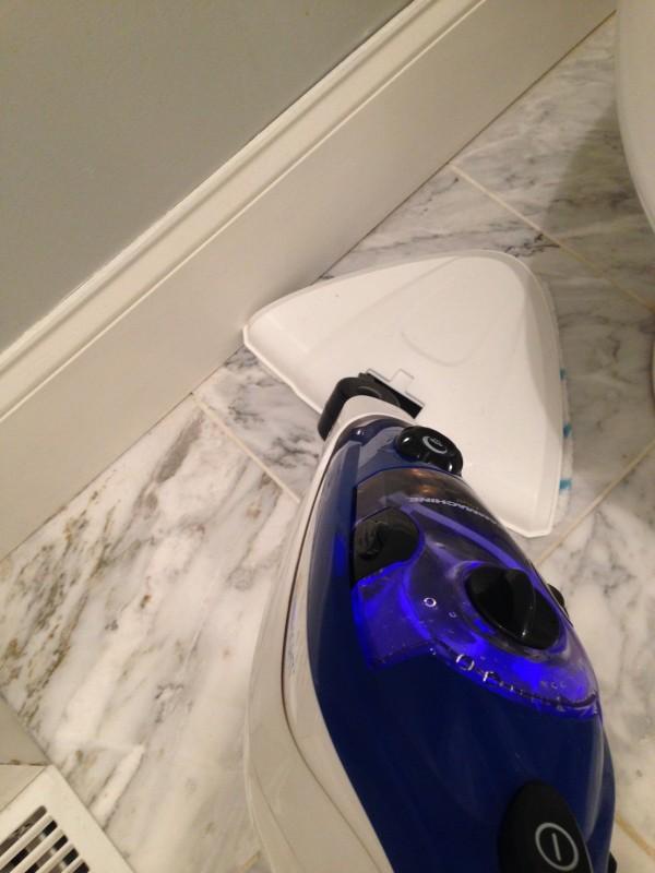 Steam Clean Your Tile Floors