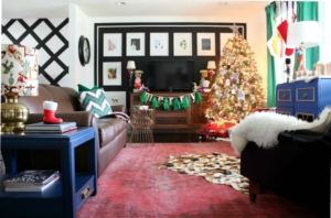 Decorating with Memories and Vintage Finds: Christmas Home Tour Part 2