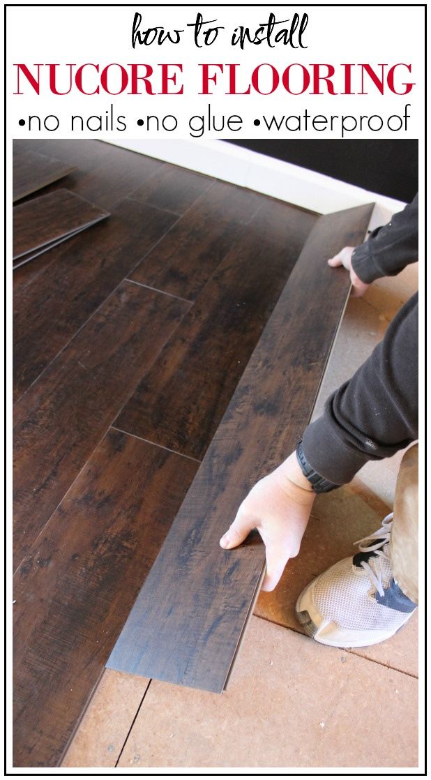 How To Install NuCore Flooring - Install vinyl flooring over plywood subfloor