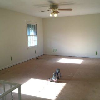 The 70's Landing Pad: Tackling the Miles of Baseboards