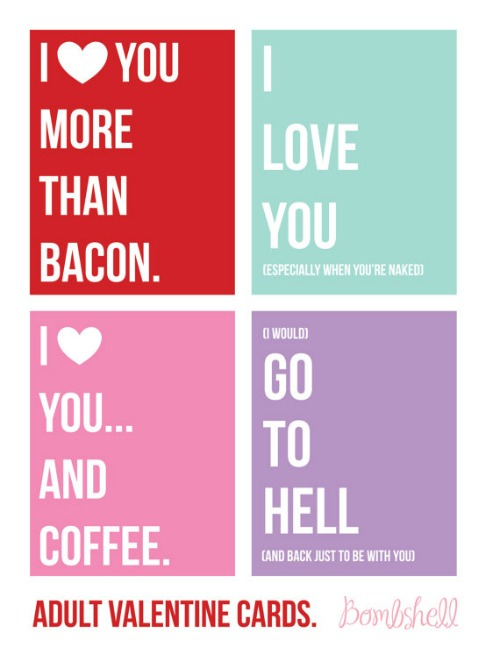 Stellar Ways to Say I Love You on Valentine's Day: Printable Valentine's Day Cards