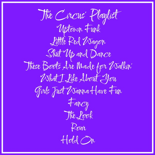 The Circus' Playlist