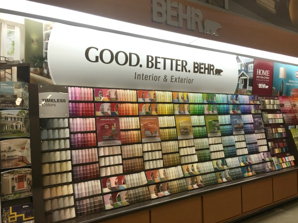 I Use The Behr Paint Chips From Home Depot Because They