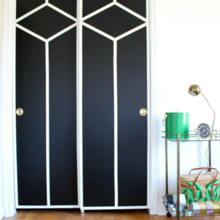 DIY Painted and Patterned Doors