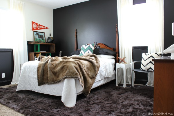 Spring Home Tour: The Evolution of Style | Masculine Bedroom