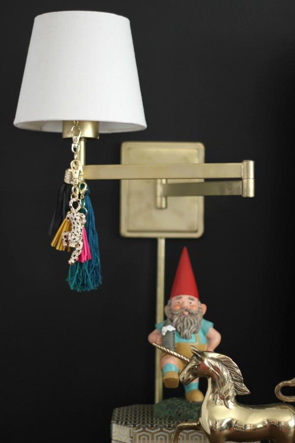 Spring Home Tour: The Evolution of Style | Modern Living Room | DIY Lamp Tassels