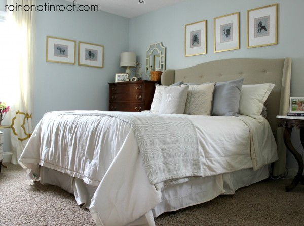 Spring Home Tour: The Evolution of Style | Neutral Master Bedroom