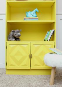 The Circus' Yellow Bookshelf