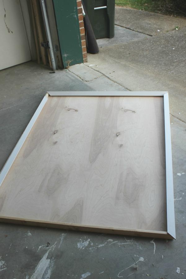 Make a huge frame for cheap.