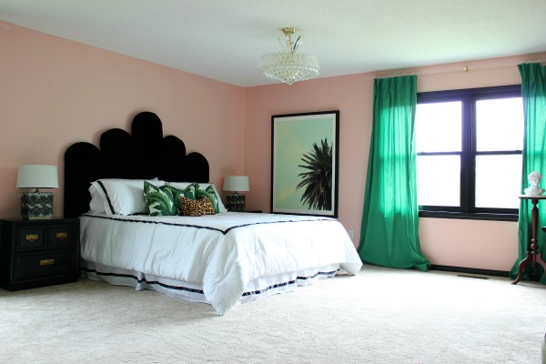 the well traveled master bedroom makeover reveal that s my letter master bedroom makeover
