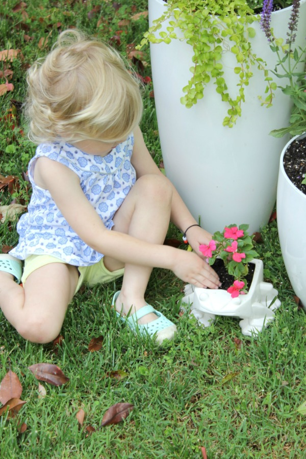Frog Planter from At Home