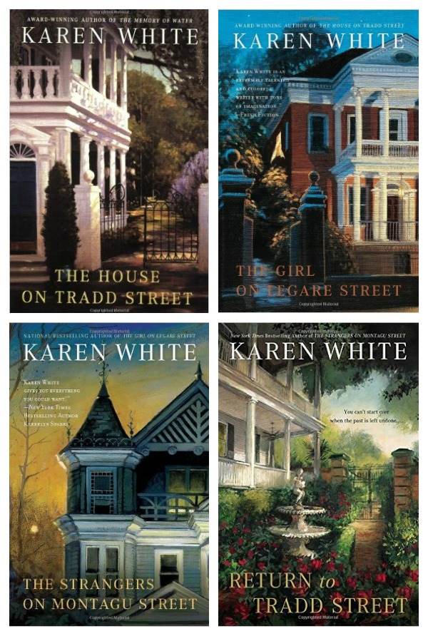 "The Tradd Street Series - set in Charleston, each book is about the tale of a ghost whose history must be determined. Some of my favorite ""ghost"" stories by far."