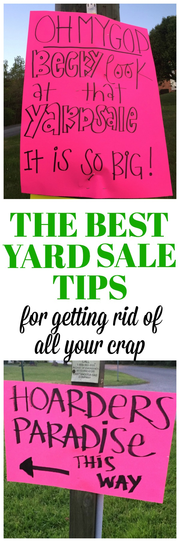 best garage business ideas - The Best Yard Sale Tips To Get Rid of All Your Junk