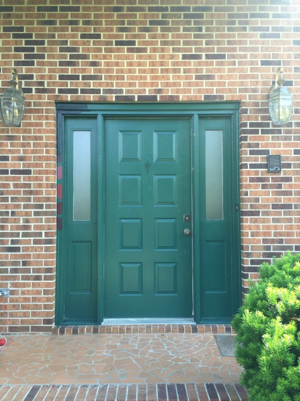 Front Door Before