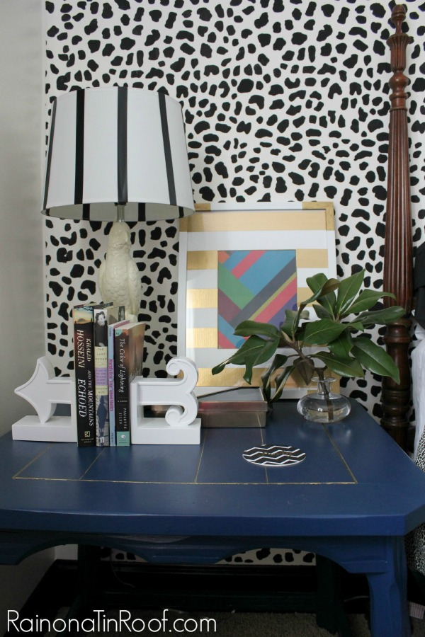 How to Accessorize a Space Without Over-Accessorizing - gives great guidelines and suggestions for using just the right amount of home accessories to make a big decorating impact! Love this nightstand vignette.