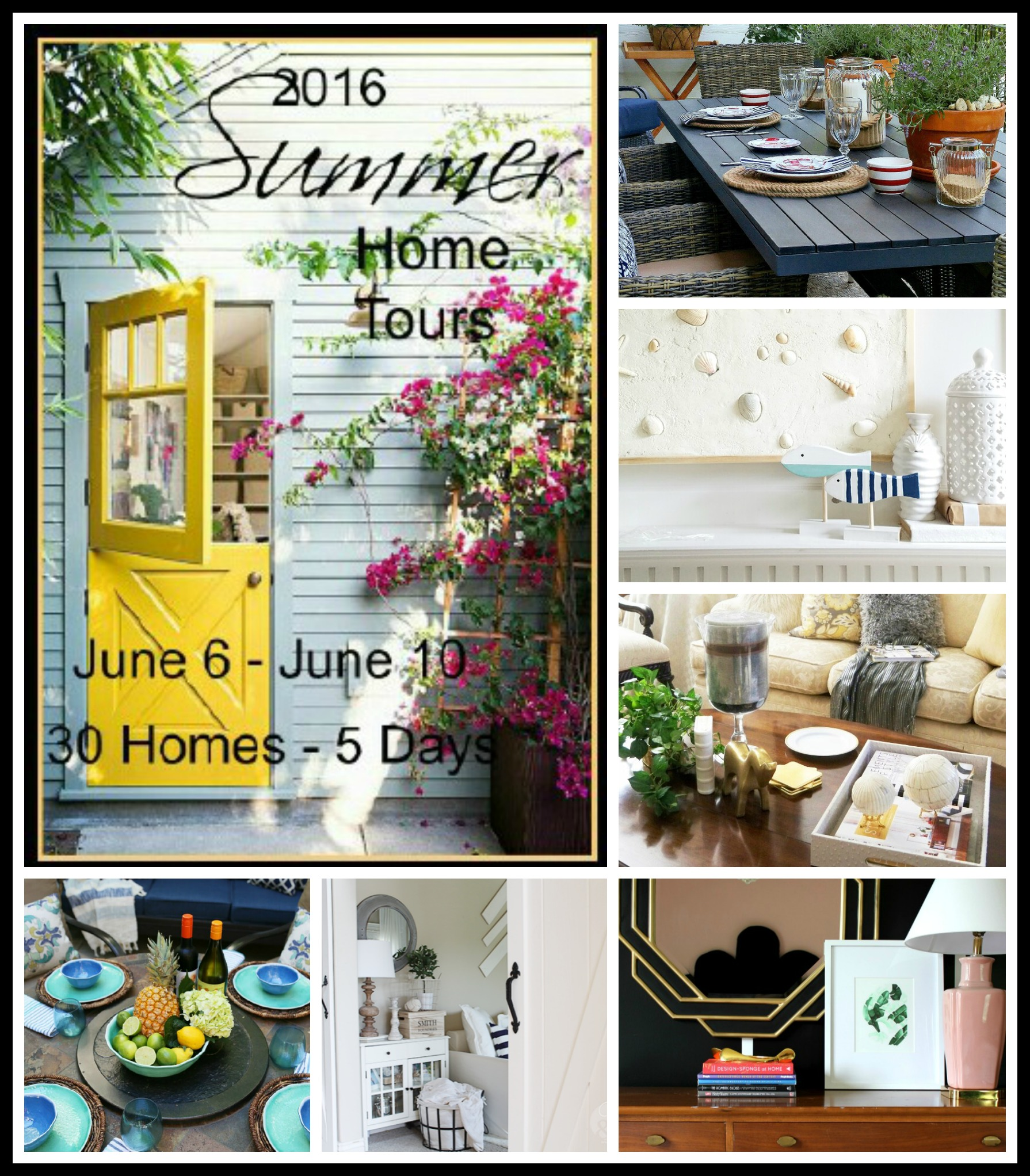 Summer Home Tours: Monday