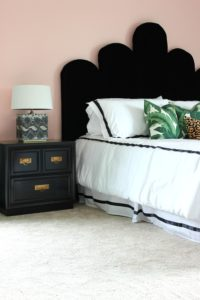 Our DIY Hollywood Regency Headboard and New Mattress