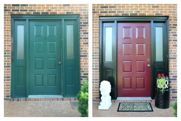 Front Door Colors | Front Door Decor Ideas | Front Door Ideas | Split Level Front Door
