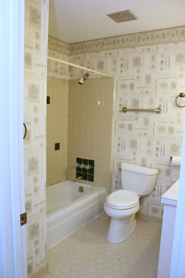 The Hall Bathroom Remodel Before
