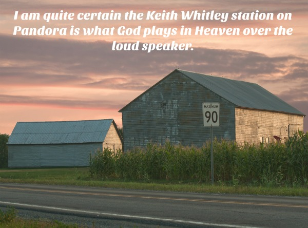 A Night to Remember: Keith Whitley is what God plays over the loudspeaker in Heaven.
