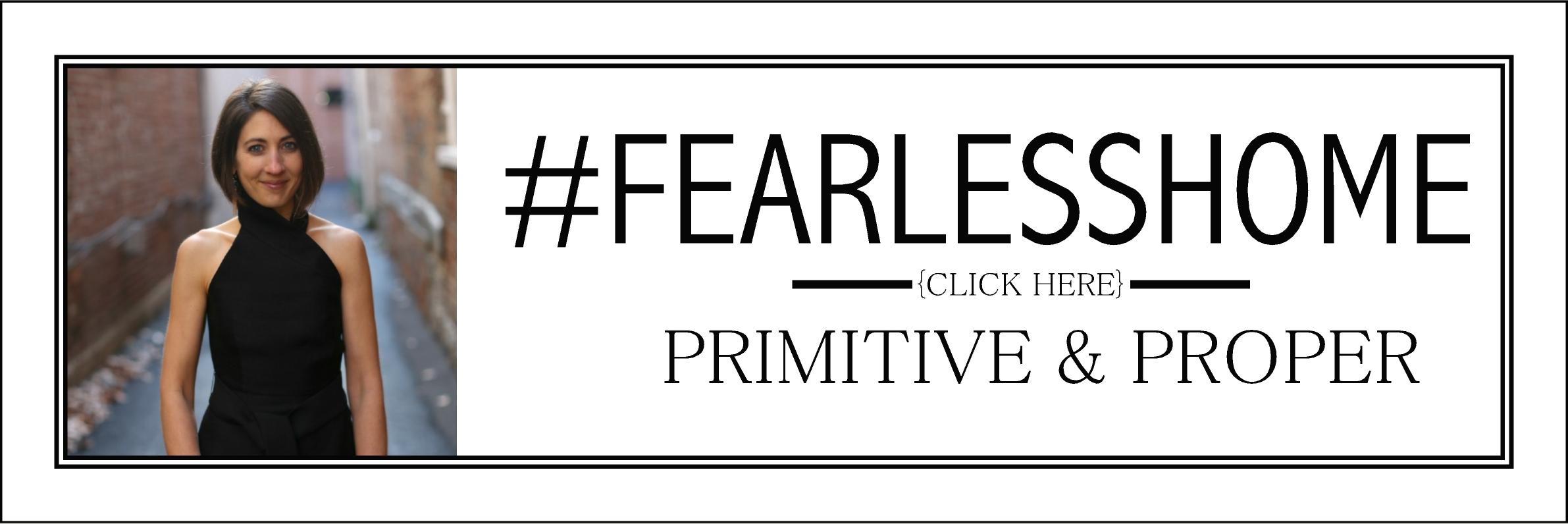 Primitive & Proper button