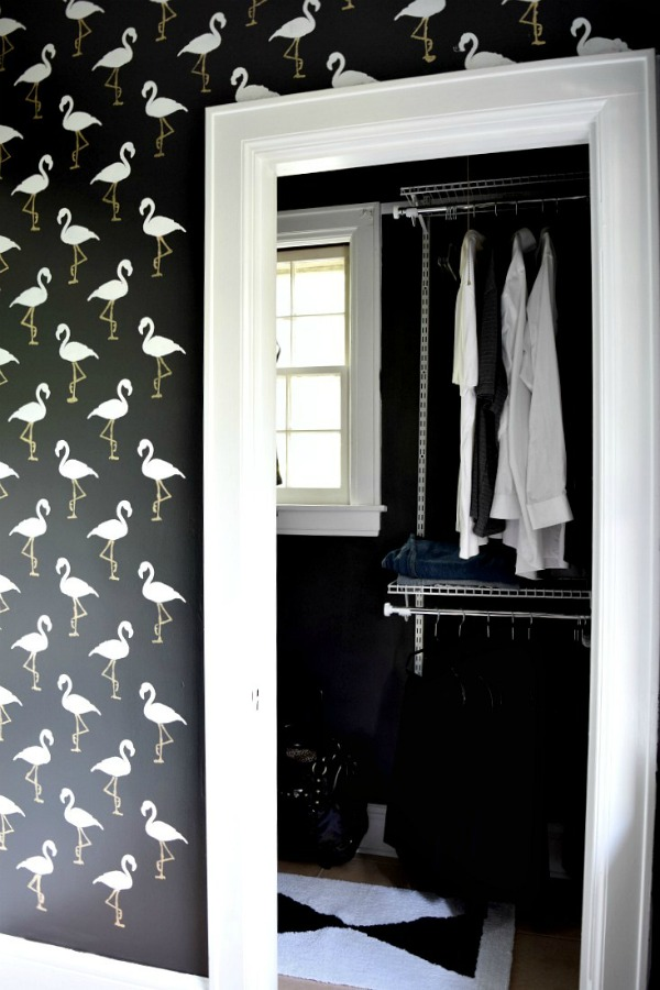 Fearless Homes | Houseologie | Flamingo Stencil