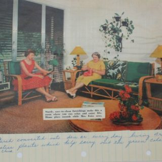 A page from Grannie's Interior Design Playbook…