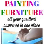 FAQ: Painting Furniture   Every question you have about painting furniture answered in one place! Great information for beginner furniture painters!