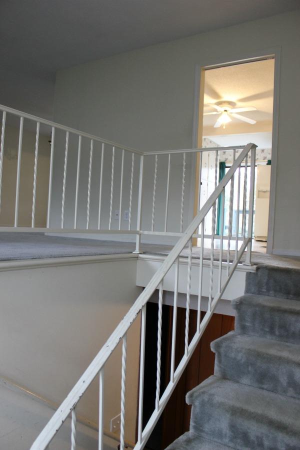 Painting Handrails White