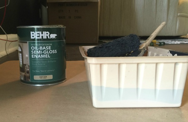 Supplies for Painting Metal Handrails or Painting Metal in General
