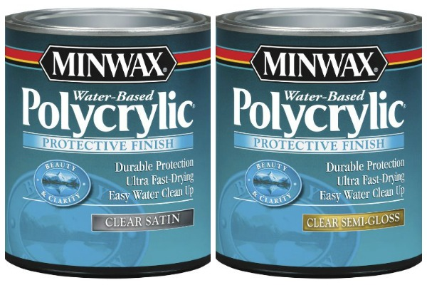 Types of Paint: Polycrylic Topcoats