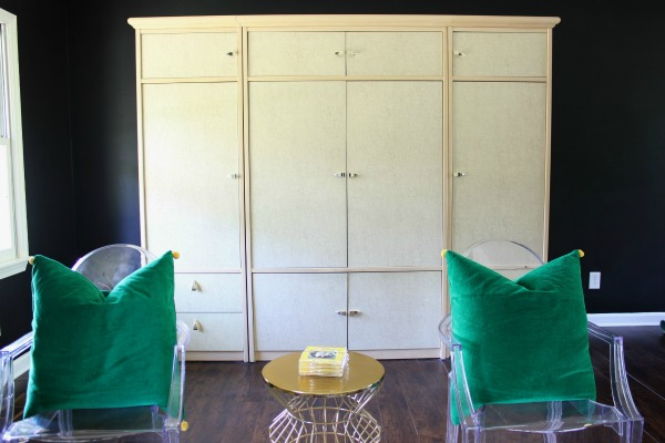 5 Simple Storage and Organization Ideas that are Life-Changing: Turn an old entertainment unit into a storage center! More great storage ideas in the post!