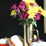 Fall Home Tour   Simple, but Colorful Tablescape