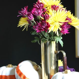 Fall Home Tour | Simple, but Colorful Tablescape
